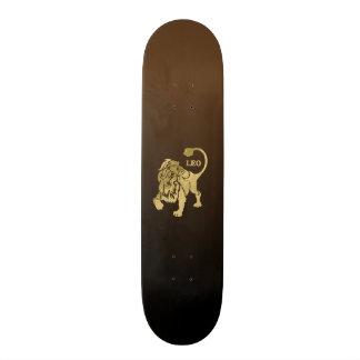 Leo Lion Zodiac Skateboard Deck
