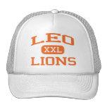 Leo - Lions - Leo High School - Chicago Illinois Hats