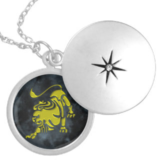 Leo Locket Necklace
