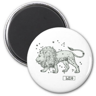 Leo - Loewe 2 Inch Round Magnet