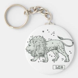 Leo - Loewe Basic Round Button Keychain