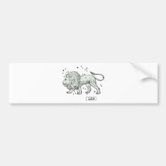 Leo - Loewe Car Bumper Sticker