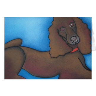 Leo Lounges by Robyn Feeley Greeting Card