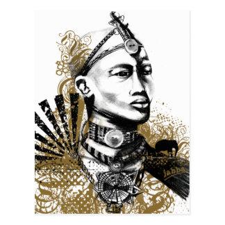 Leo Maasai Man Postcard