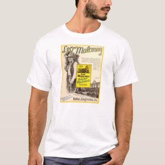 Leo Maloney 1927 silent movie exhibitor ad T-Shirt