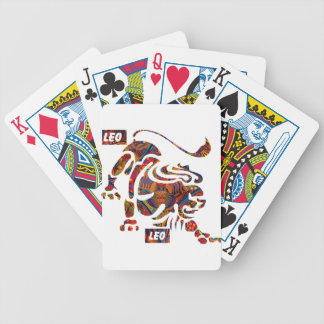 LEO MAYAN HOROSCOPES PRODUCTS BICYCLE PLAYING CARDS