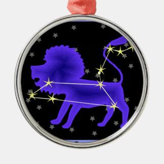 Leo Metal Ornament
