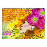 Leo notecards stationery note card