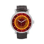 Leo Pattern Wristwatch