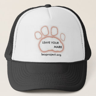 LEO Paw print hat - Leave your mark!