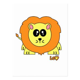 Leo Pudgie Pet Postcard