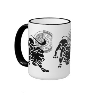 Leo Shadow Ringer Coffee Mug