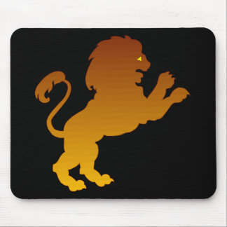 Leo Silhouette Mouse Pad