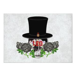 Leo Skull Card