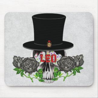Leo Skull Mouse Pad