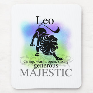 Leo sobre usted mouse pads
