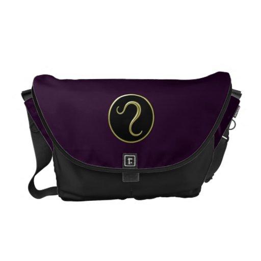 Leo Symbol Messenger Bag