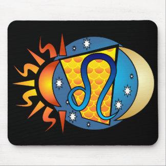 Leo Symbol Mouse Pad