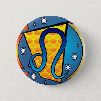 Leo Symbol Pinback Button