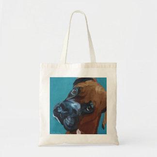 Leo the Boxer Tote Bag