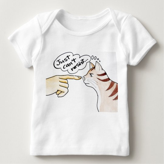 Leo The Cat - Just Can't Resist baby shirt