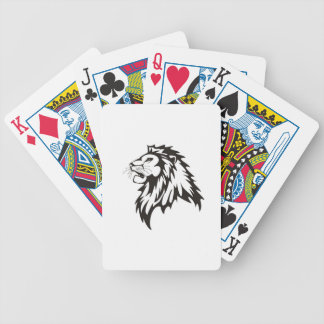 Leo-the-king-Wall-Sticker-single.jpg Bicycle Playing Cards