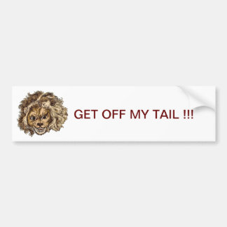 LEO, The Laughing Lion Bumper Stickers