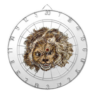 LEO, The Laughing Lion Dart Boards