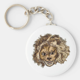 LEO, The Laughing Lion Keychain