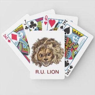 LEO, The Laughing Lion Card Decks
