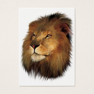 Leo the Lion ACEO Art Trading Cards