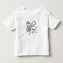 Leo (the Lion) an illustration from the 'Poeticon Toddler T-shirt