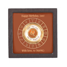 LEO - The Lion Astrological Sign Gift Box