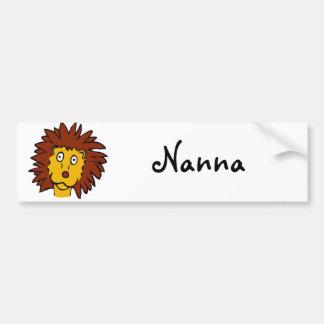Leo the Lion Bumper Sticker
