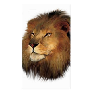 Leo the Lion Business Cards