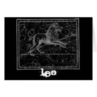 Leo, the Lion Card