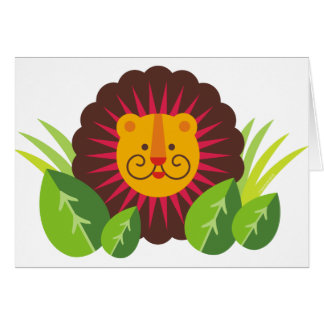 leo the lion greeting cards