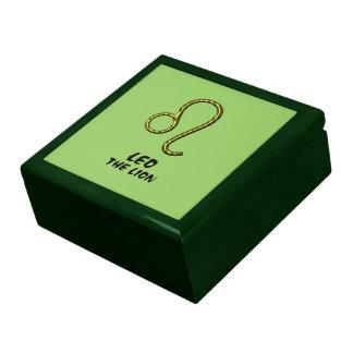 Leo the lion gift box