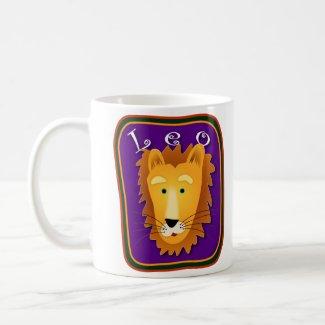 Leo the Lion Mug mug