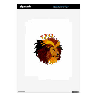 LEO THE LION DECAL FOR THE iPad 2