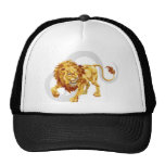 Leo the lion star or birth or zodiac sign hats