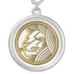 Leo the Lion Sterling Silver Pendant Necklace