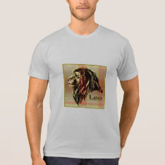 Leo The Lion T-shirt at Zazzle