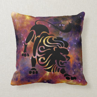 Leo The Lion Throw Pillow