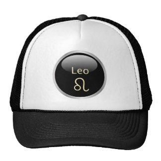 Leo the lion zodiac astrology star sign hat, cap trucker hat