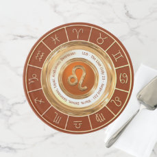 LEO - The Lion Zodiac Sign Cake Stand