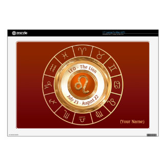 LEO - The Lion Zodiac Sign Decals For Laptops