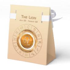 LEO - The Lion Zodiac Sign Favor Box