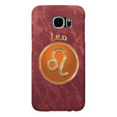 Leo | The Lion Zodiac Sign Samsung Galaxy S6 Case