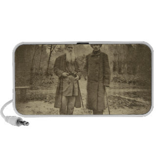 Leo Tolstoy and the author Maxim Gorky Portable Speaker
